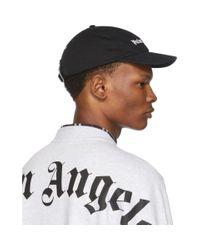 Casquette a logo noire Classic Palm Angels pour homme en coloris Black