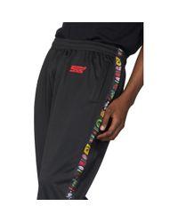 メンズ SSS World Corp ブラック Sponsors トラック パンツ Black