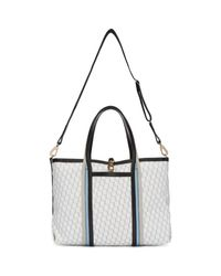 Pierre Hardy   Black Tricolor Canvas Polycube Tote   Lyst
