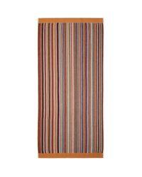 メンズ Paul Smith マルチカラー ストライプ ビーチ タオル Multicolor