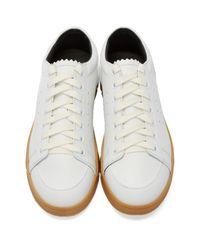 Loewe Black Suede Low-Top Sneakers
