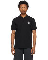メンズ KENZO ブラック Sport Little X ポロシャツ Black