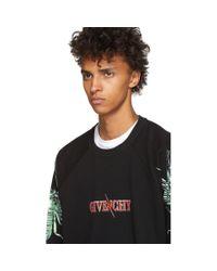 メンズ Givenchy ブラック スコーピオン ロゴ スウェットシャツ Black