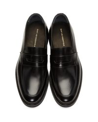 Want Les Essentiels De La Vie Black Marcos Loafers for men