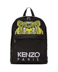 メンズ KENZO 限定エディション ブラック High Summer タイガー バックパック Black
