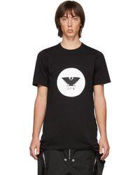 メンズ Rick Owens ブラック Level T シャツ Black