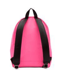 メンズ KENZO ピンク ロゴ バックパック Pink