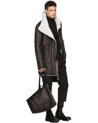 Rick Owens Black Bucket Bag for men