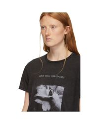 R13 Black Joy Division Love Will Tear Us Apart Boy T-shirt