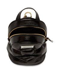 Maison Margiela Black Glossed Glam Slam Backpack