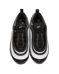 Nike ブラック And ホワイト エア マックス 97 スニーカー Black