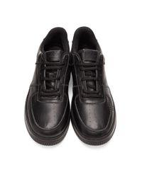 メンズ 424 ブラック ディストレス スニーカー Black