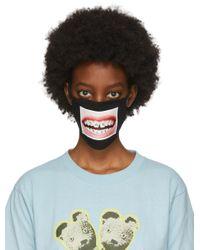 Marc Jacobs Hey_reilly Edition ブラック フェイス マスク Black