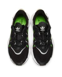 Adidas Originals ブラック Ozweego スニーカー Black