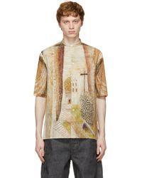 メンズ Lemaire Martín Ramírez コレクション マルチカラー ショート スリーブ プリント シャツ Multicolor