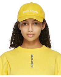 Palm Angels イエロー Classic ロゴ キャップ Yellow