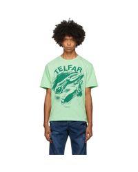 T-shirt vert The World Isnt Everything Telfar pour homme en coloris Green