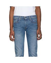 Jean bleu 502 Regular Taper Levi's pour homme en coloris Blue