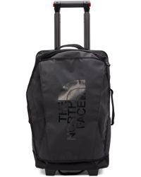 メンズ The North Face ブラック 22 インチ スーツケース Black