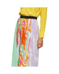 Emilio Pucci マルチカラー プリーツ Rivera スカート Multicolor