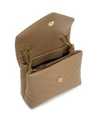 Saint Laurent Natural Beige Small Loulou Bag
