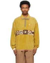 メンズ STORY mfg. グリーン Polite ジャケット Yellow