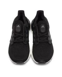 メンズ Adidas ブラック Ultraboost 20 スニーカー Black