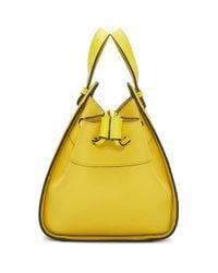Loewe イエロー ミニ ハンモック ドローストリング バッグ Yellow