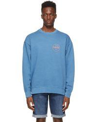メンズ Levi's ブルー Modern Vintage スウェットシャツ Blue