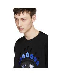 KENZO Black Eye Sweatshirt for men