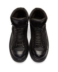 Bottes noires Pallottola Pedula Gomme Marsèll pour homme en coloris Black