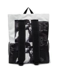 Raf Simons Black Eastpak Rs Poster Padded Backpack