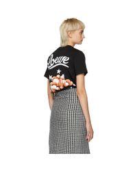 Loewe Black Clouds And Stars T-shirt