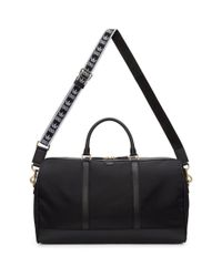 Dolce & Gabbana - Black Nylon Duffle Bag for Men - Lyst