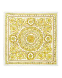 Versace オフホワイト バロック スカーフ White