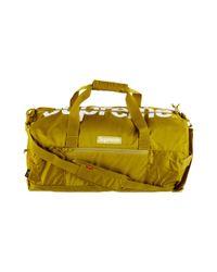 Supreme - Duffle Bag Acid Green for Men - Lyst