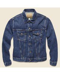 RRL Blue Denim Jacket - Stillwell Wash for men