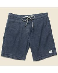 Katin - Blue Parker Swim Trunk - Navy for Men - Lyst