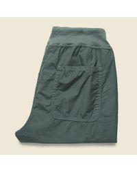 Save Khaki - Green Poplin Cozy Pant - Park for Men - Lyst