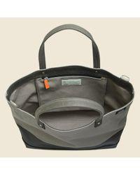 Jack Spade Dipped Industrial Canvas Coal Bag - Granite/brown