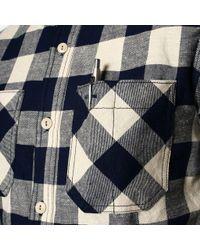 Rogue Territory Multicolor Hunter Shirt - Tan/navy for men