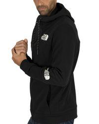 The North Face Black Lite Zip Hoodie for men
