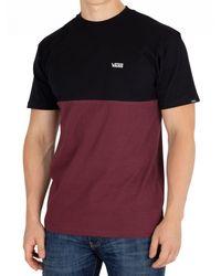 Vans Port Royale/black Colorblock T-shirt for men