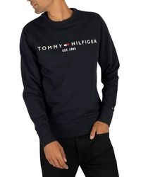Tommy Hilfiger Multicolor Logo Sweatshirt for men