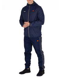 Ellesse Blue Navy Sortoni Jacket for men