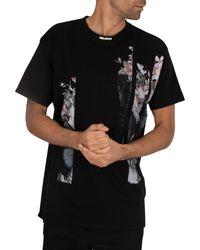 Religion Black Butterfly T-shirt for men