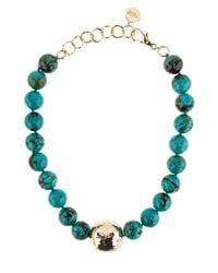 Nest   Blue Jasper Turquoise Statement Necklace   Lyst