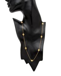 Coomi - Metallic Diamond Eternity Opera Link Necklace - Lyst