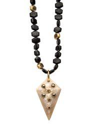 Ashley Pittman | Multicolor Umri Dark Horn Necklace | Lyst