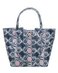 Kelly Wynne Blue Paint The Town Tote Navy